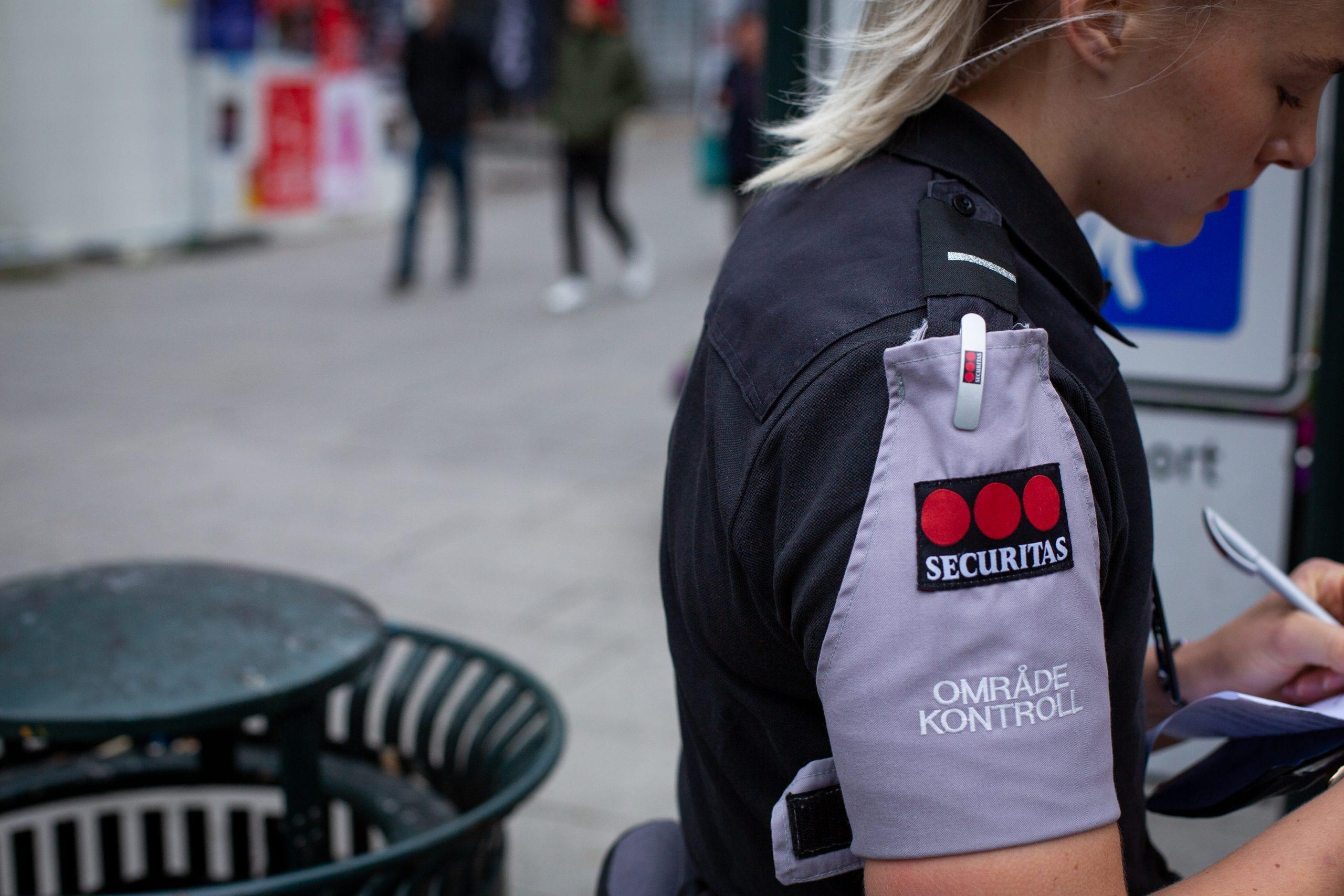 Securitas opplæring med politi og vekter-elevane Stord folkehøgskule