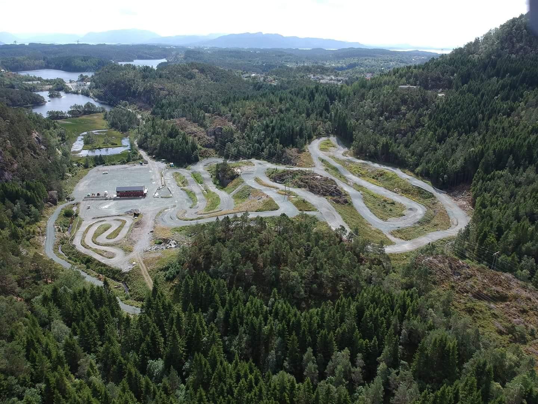 Motocross-anlegg Stord folkehøgskule