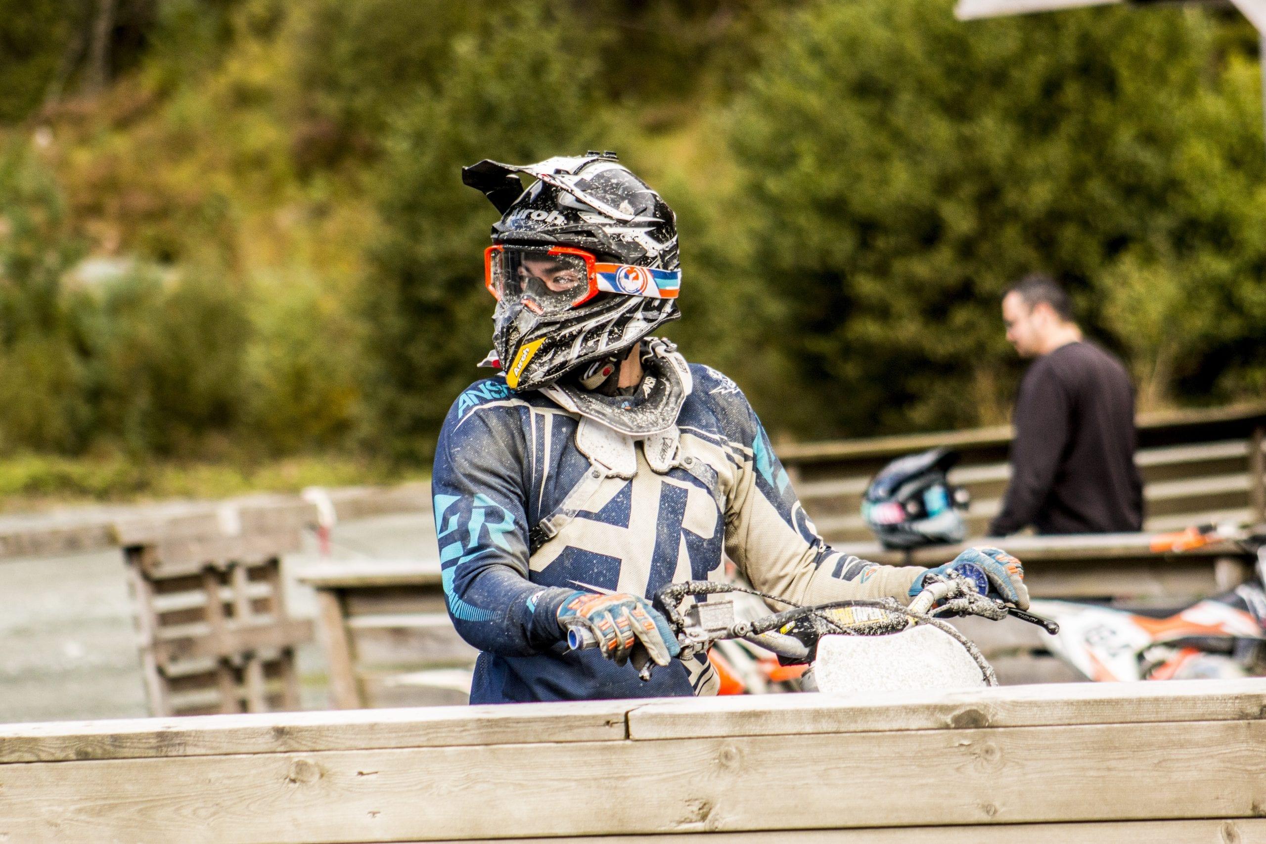 Klar for ny runde. Motocross Stord folkehøgskule