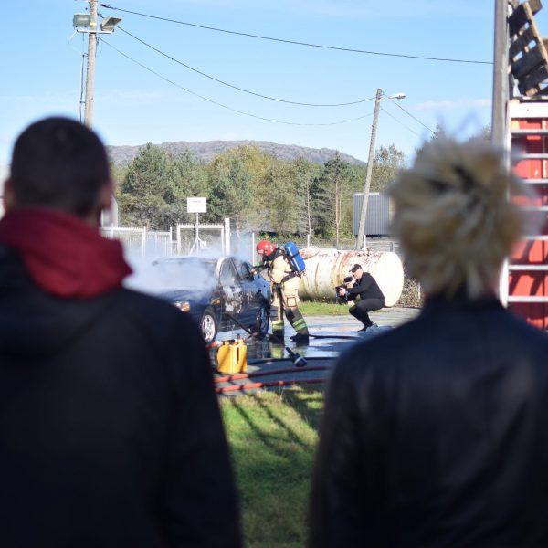 Brannsikringskurs med Stord Brann og Redning Stord folkehøgskule